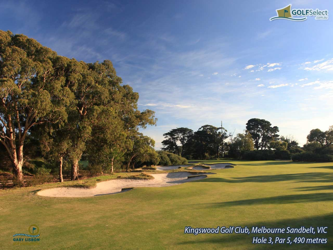 Kingswood Golf Club Hole 3, Par 5, 490 metres