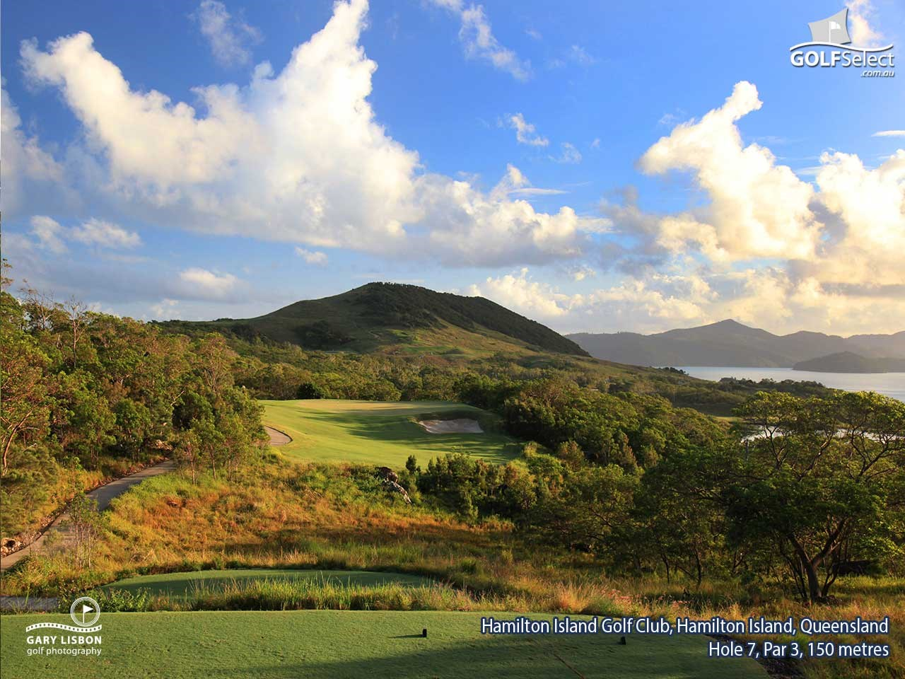 Hamilton Island Golf Club Hole 7, Par 3, 150 metres