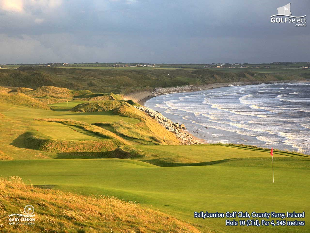 ballybunion golf club old course ballybunion county kerry ireland golfselect. Black Bedroom Furniture Sets. Home Design Ideas