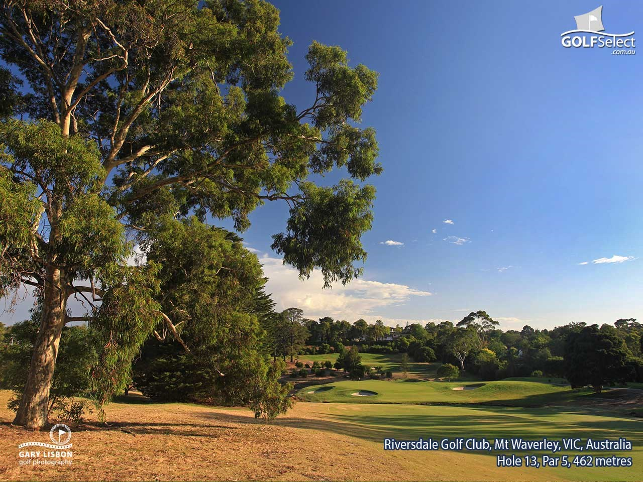 Riversdale Golf Club Hole 13, Par 5, 467 metres