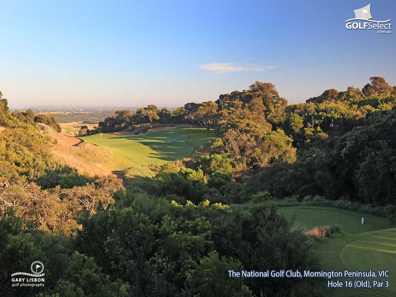 The National Golf Club (Old Course) Hole 16, Par 3