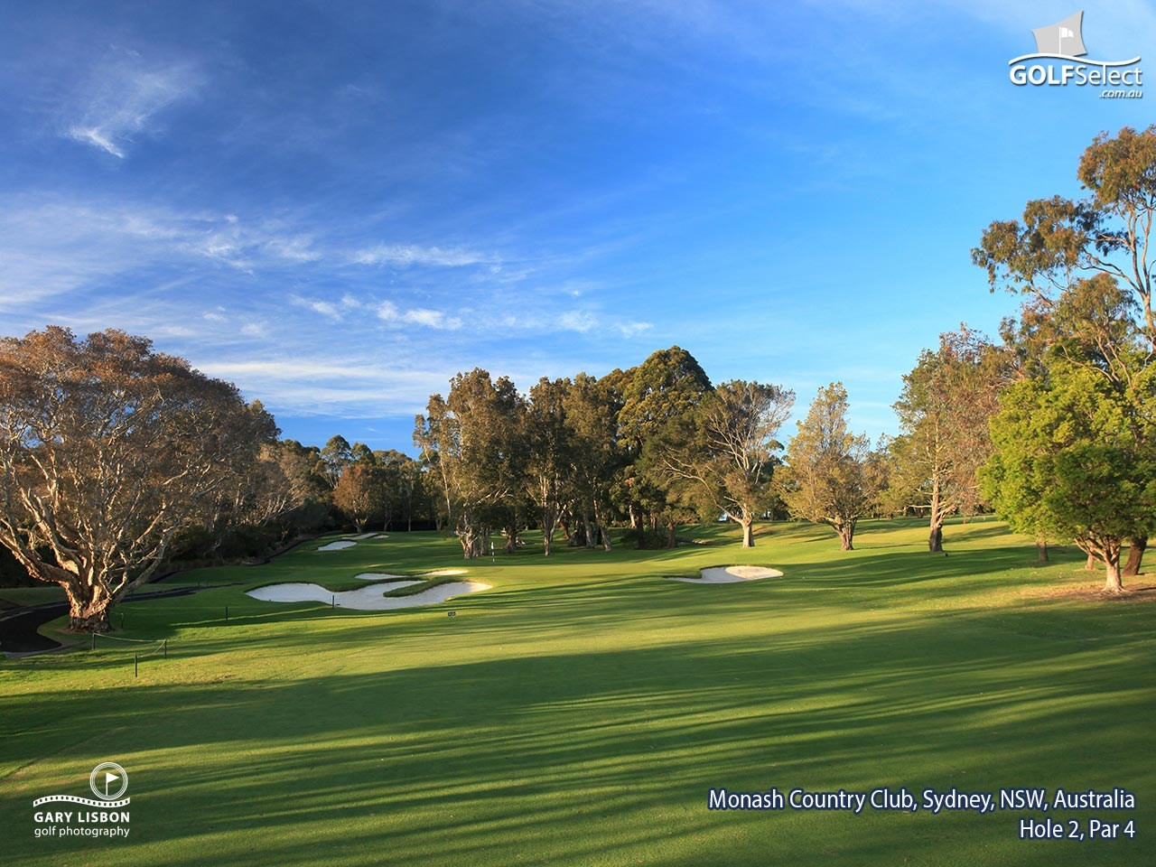 Monash Country Club Hole 2, Par 4