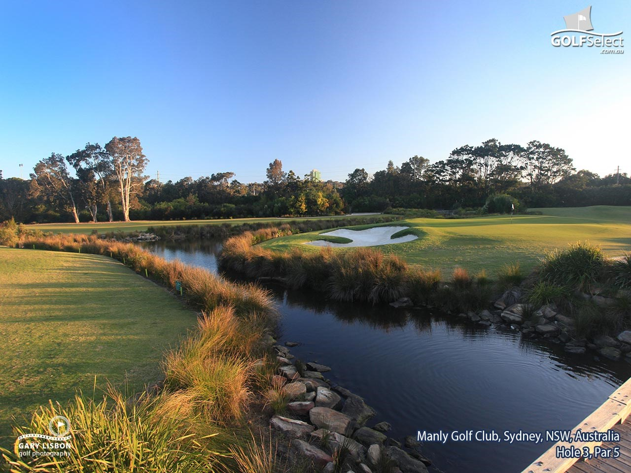 Manly Golf Club Hole 3, Par 5