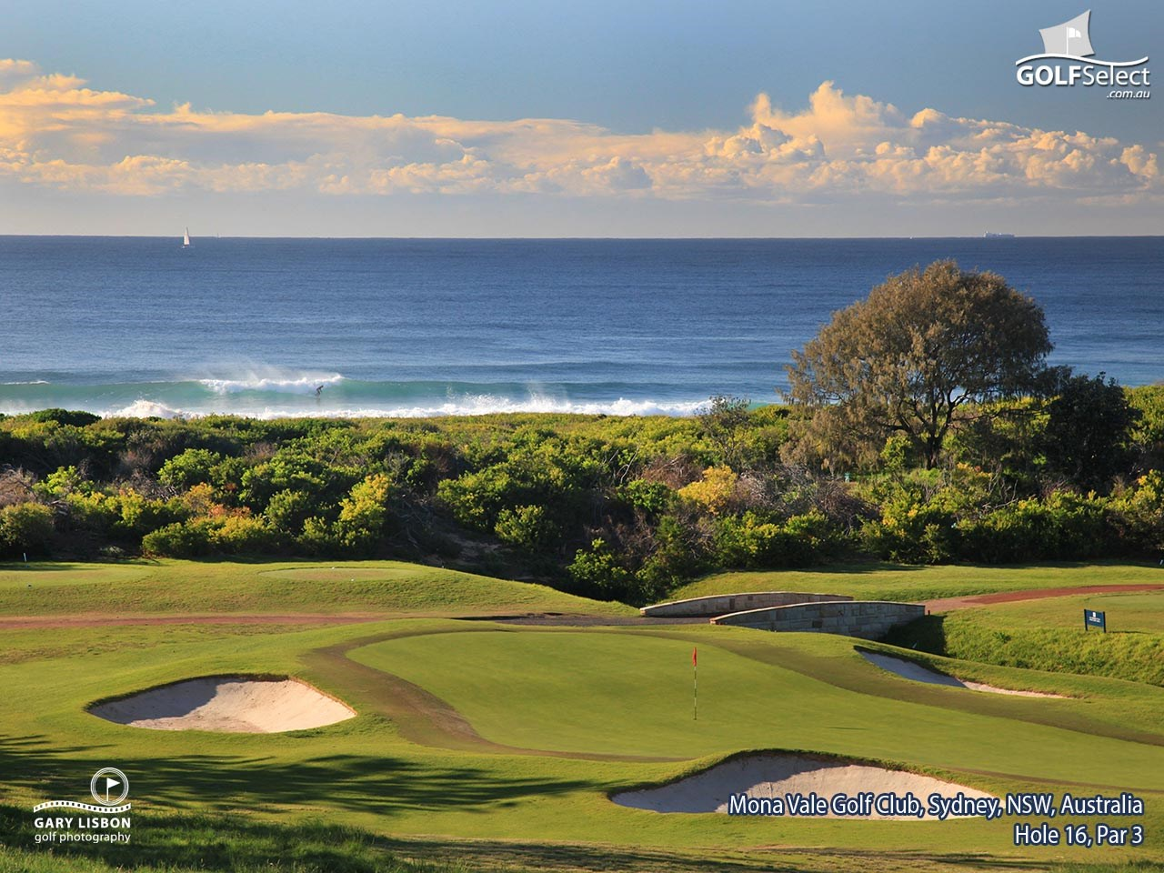 Mona Vale Golf Club Hole 16, Par 3