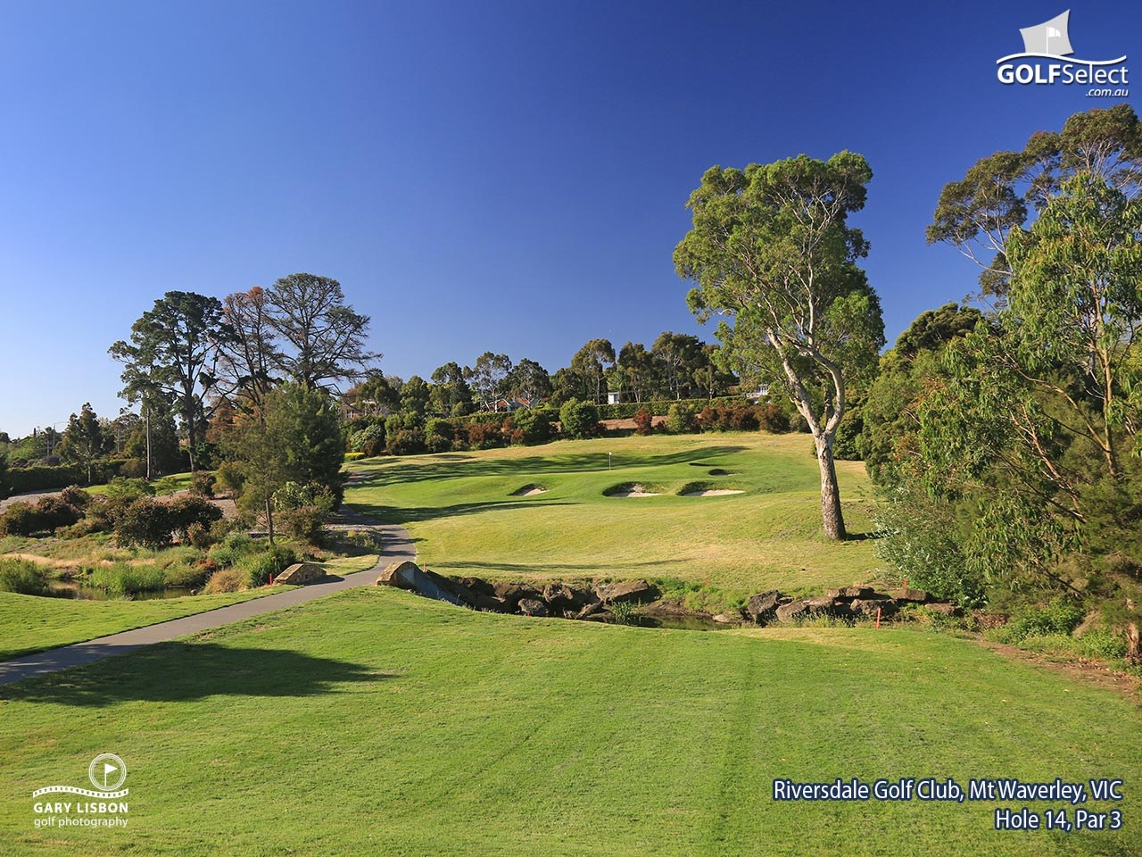 Riversdale Golf Club Hole 14, Par 3