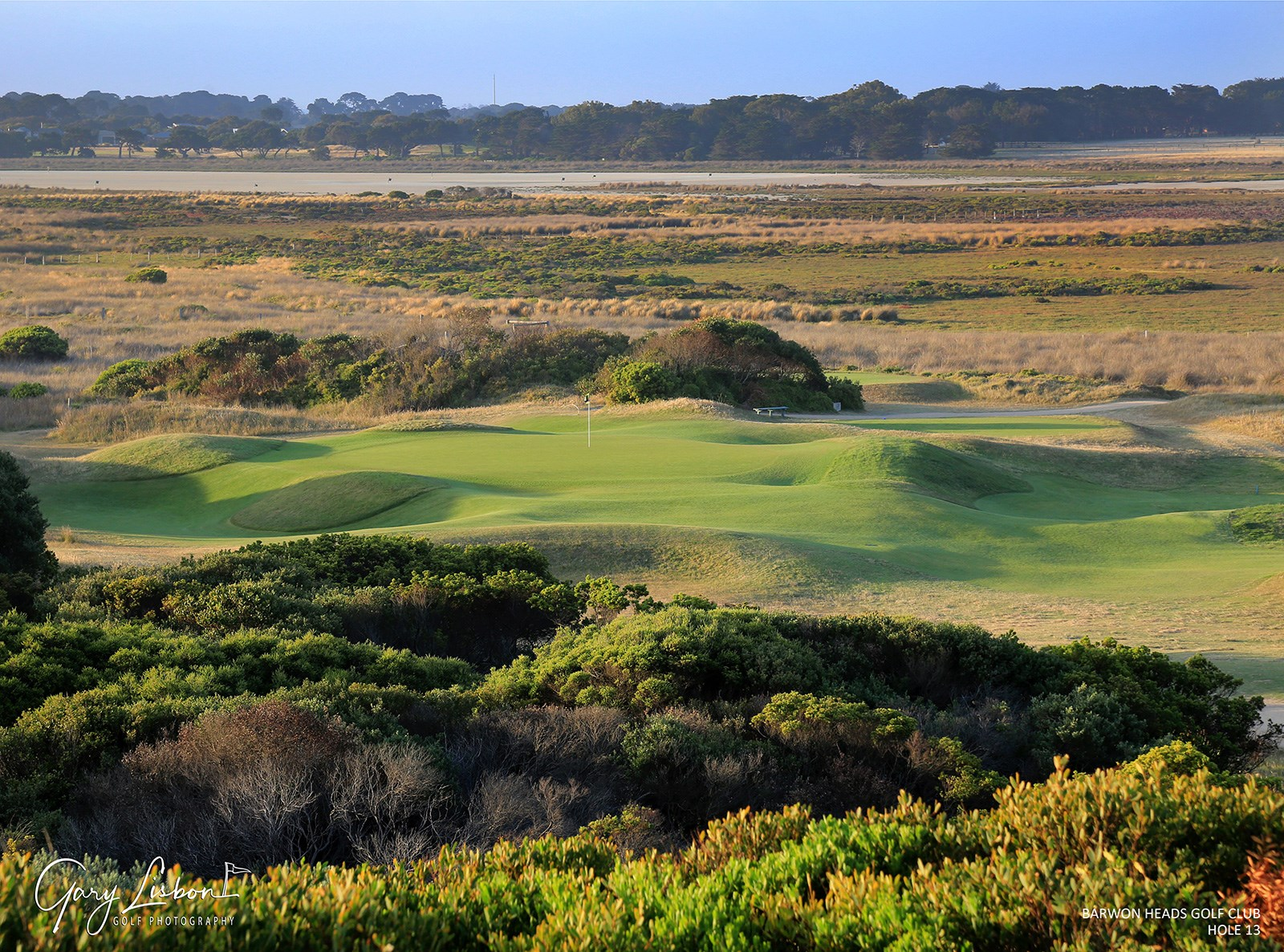 Barwon Heads Golf Club Hole 13