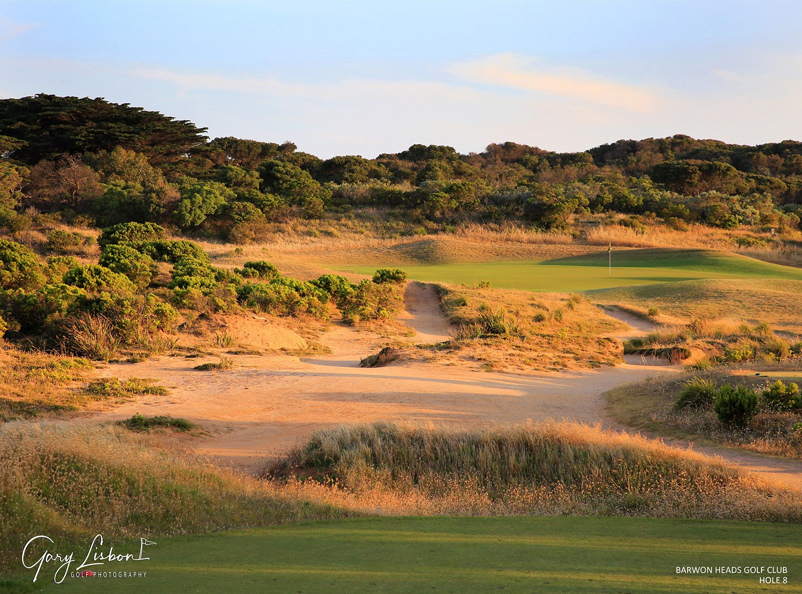 Barwon Heads Golf Club Hole 8