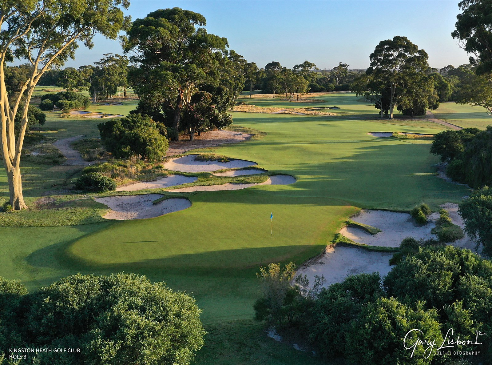Kingston Heath Golf Club Hole 3