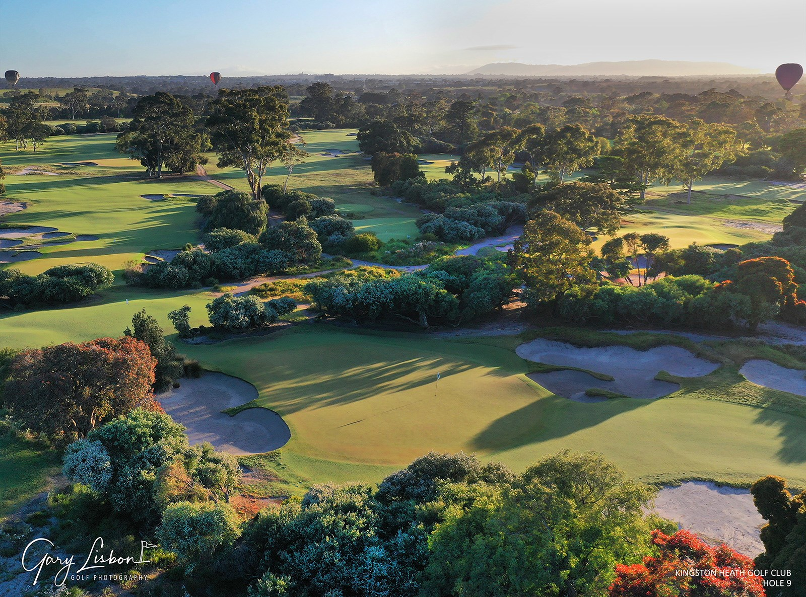 Kingston Heath Golf Club Hole 9