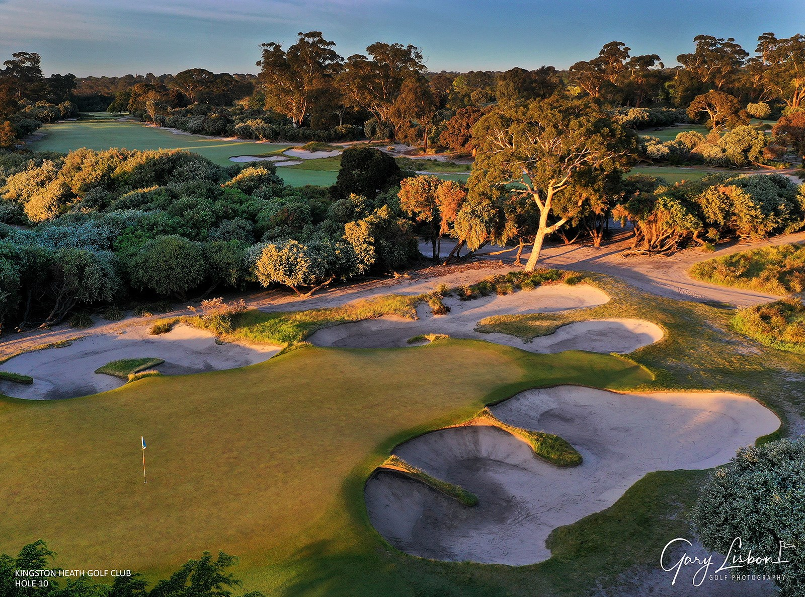 Kingston Heath Golf Club Hole 10