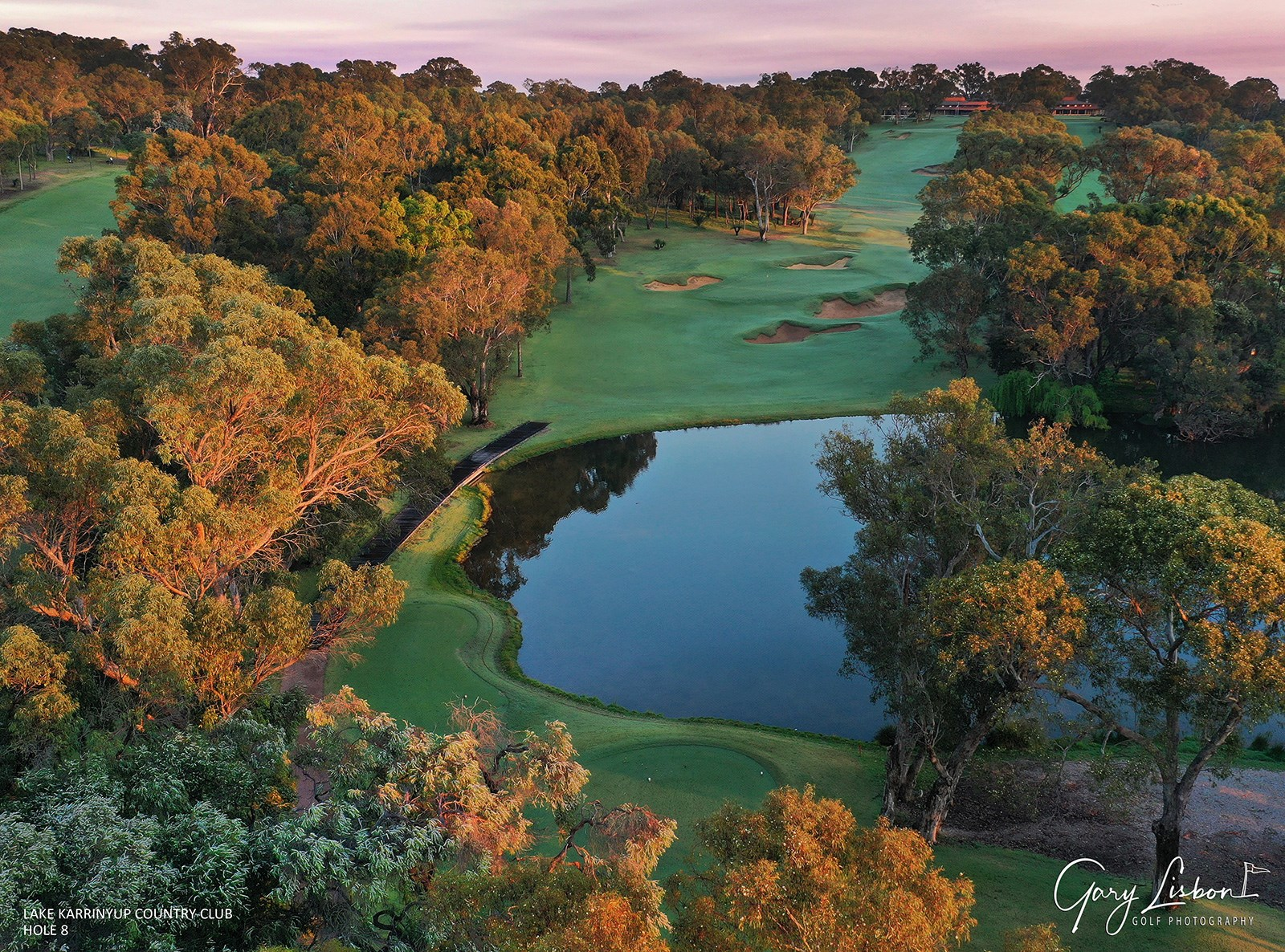 Lake Karrinyup Country Club Hole 8