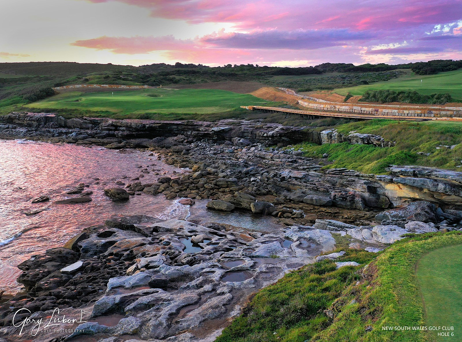 The New South Wales Golf Club Hole 6