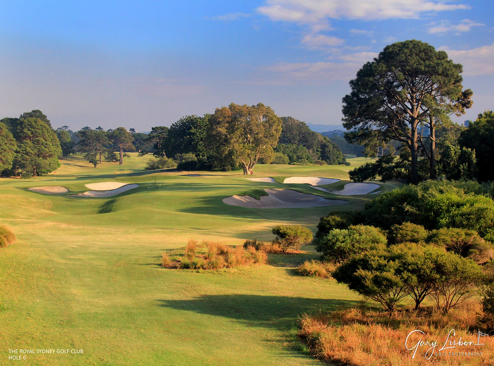 Royal Sydney Golf Club Hole 6