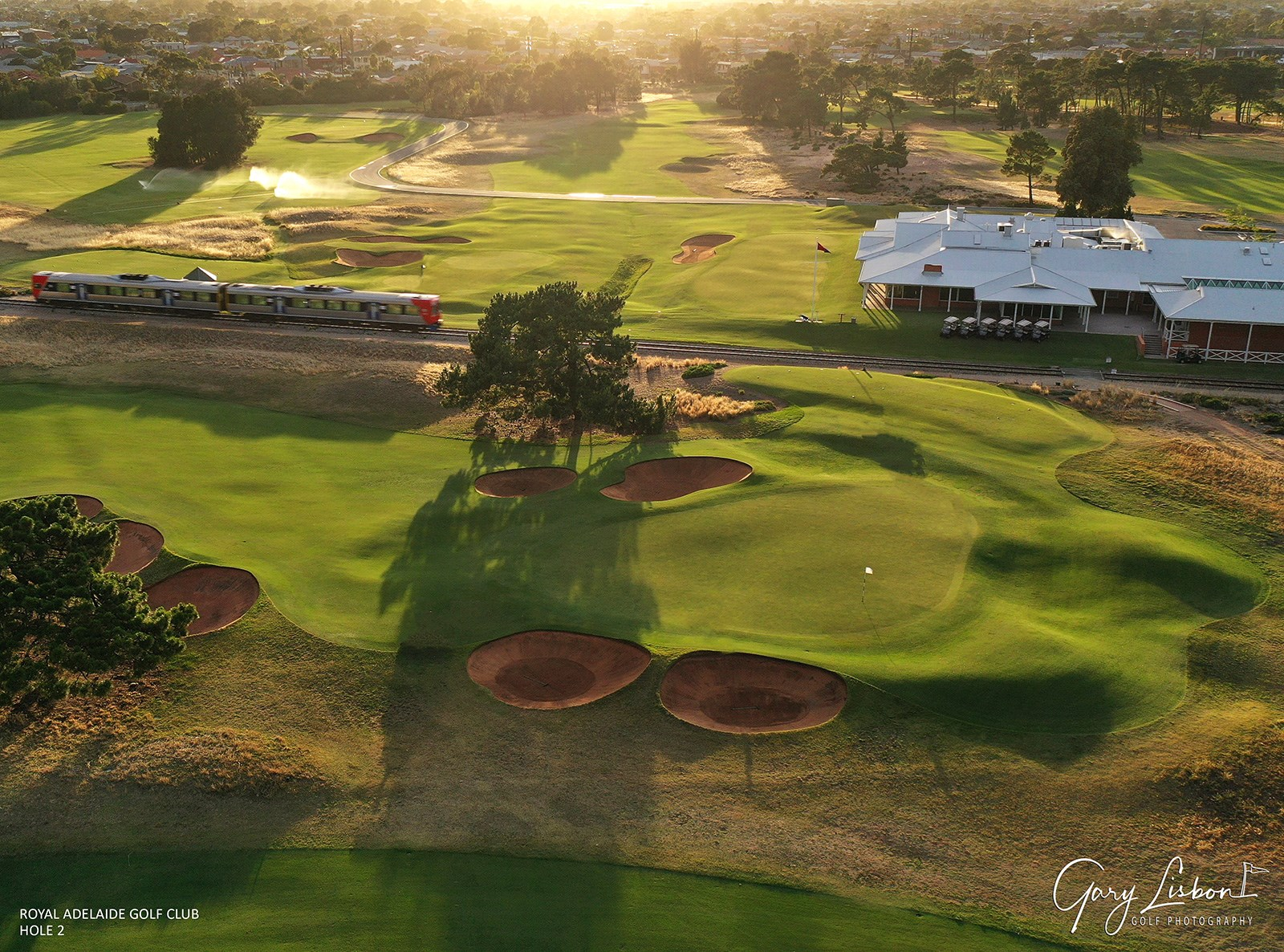 Royal Adelaide Golf Club Hole 2