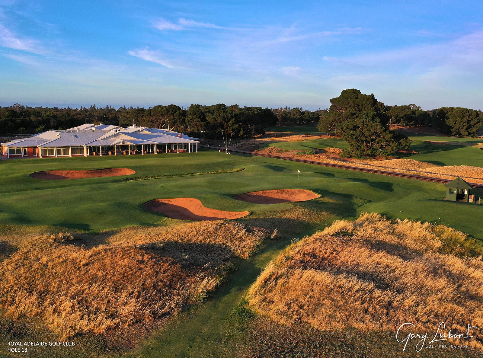 Royal Adelaide Golf Club Hole 18