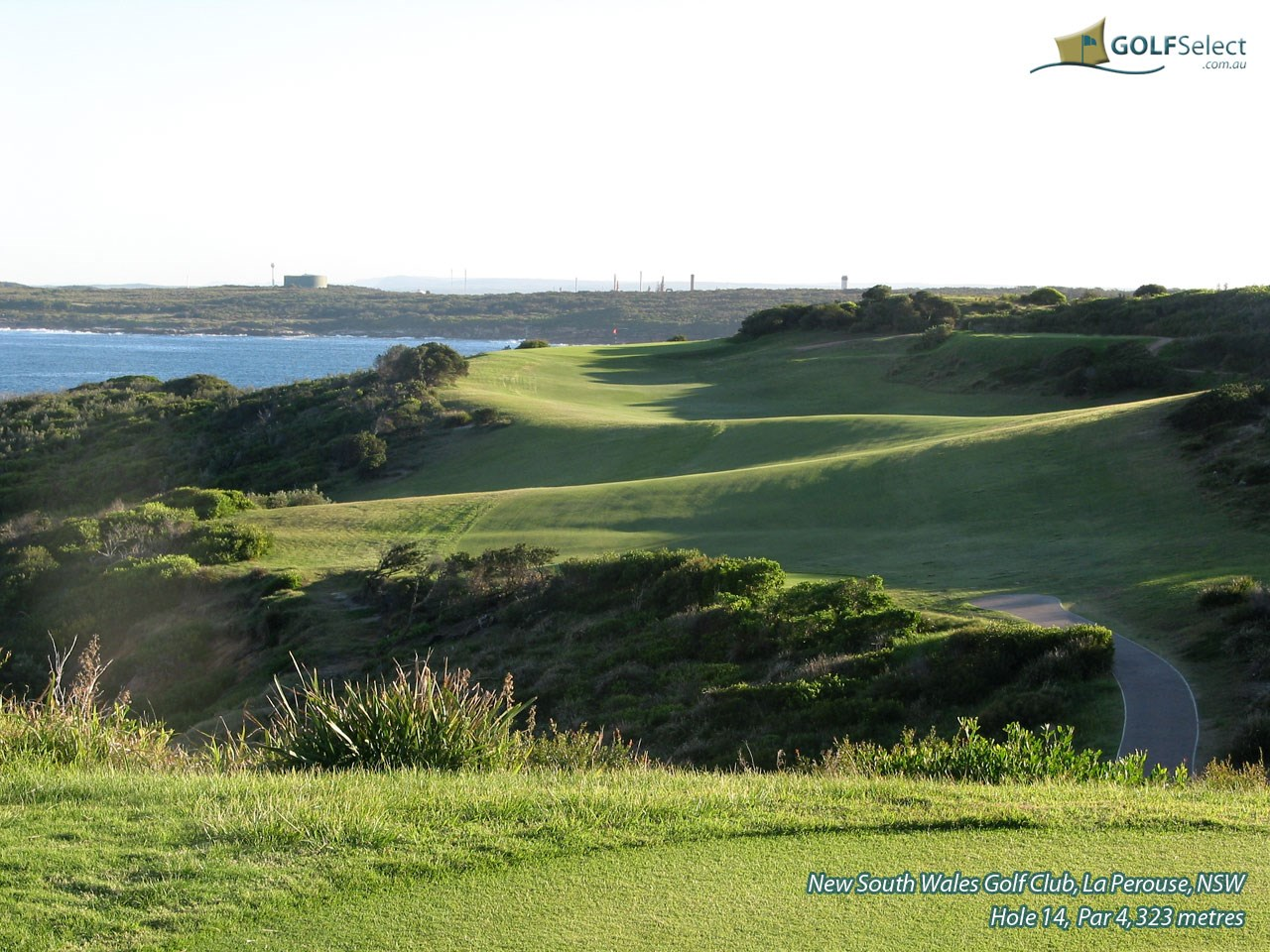 The New South Wales Golf Club Hole 14, Par 4, 323 metres