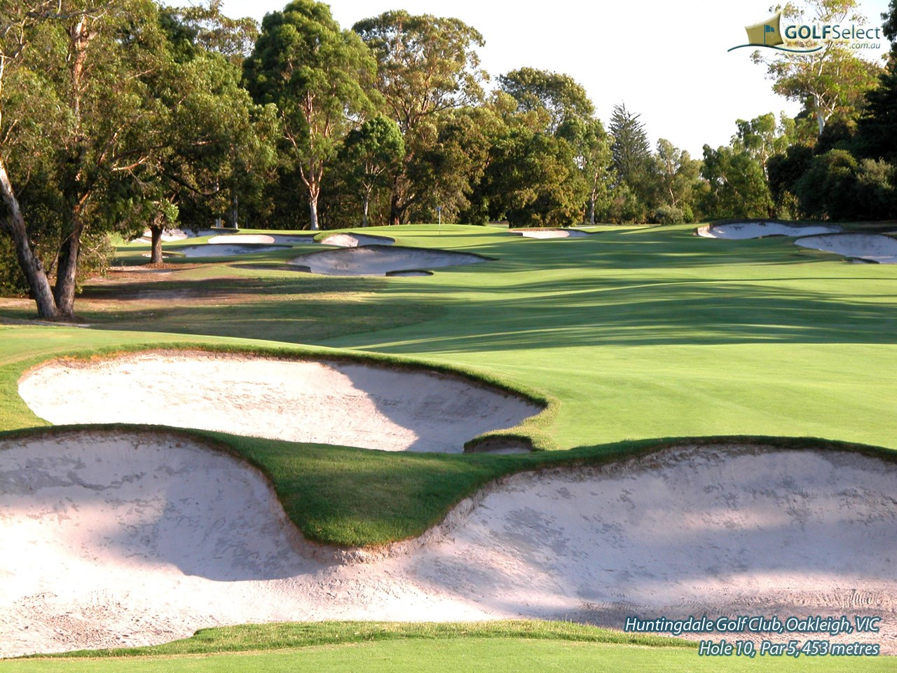 Huntingdale Golf Club Hole 10