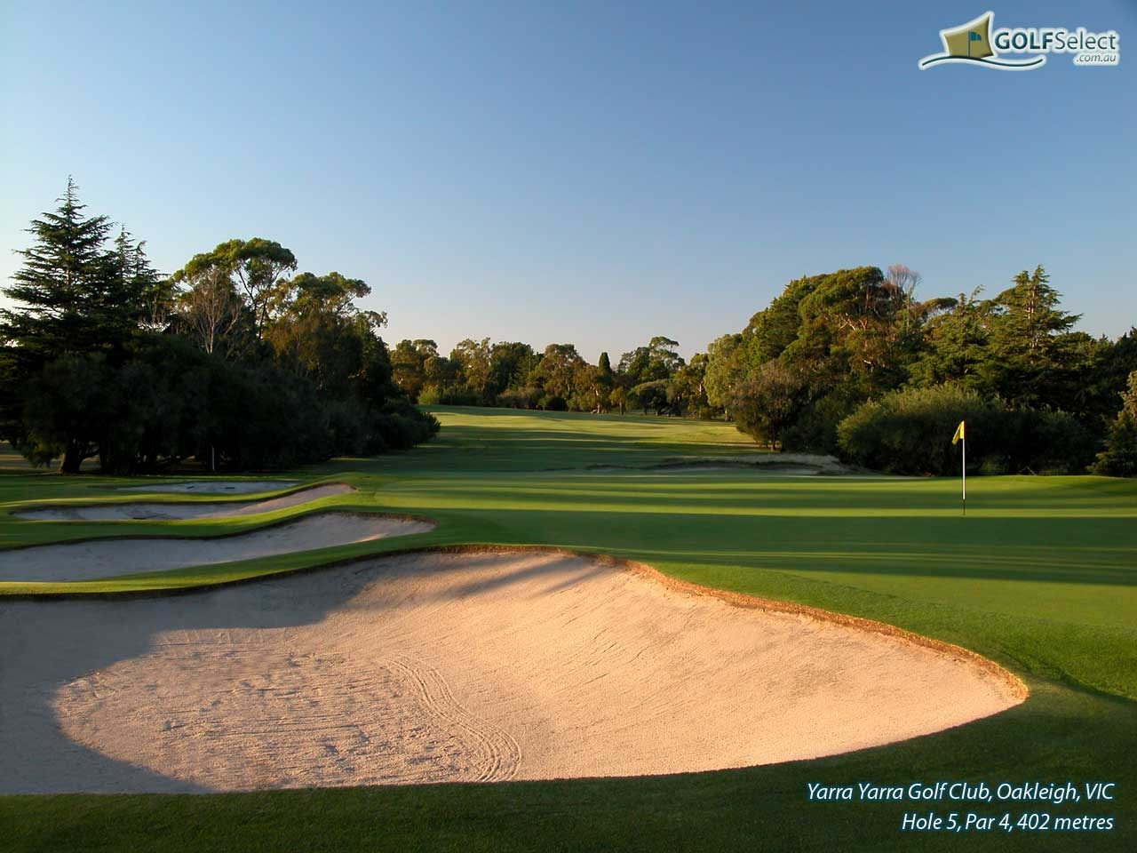 Yarra Yarra Golf Club Hole 5