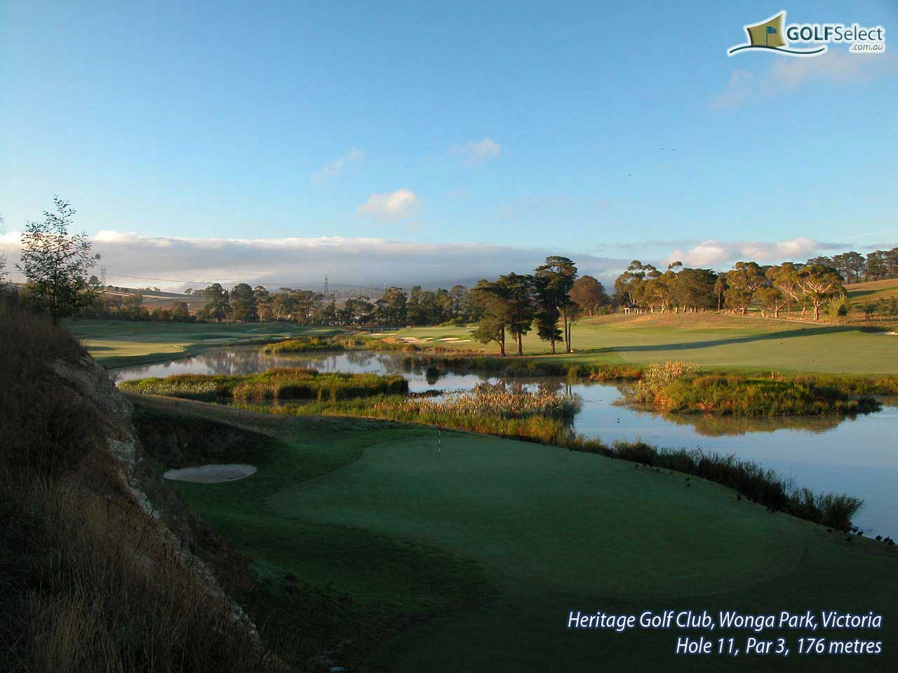 The Heritage Golf and Country Club (St.John Course) Hole 11, Par 3, 176 metres