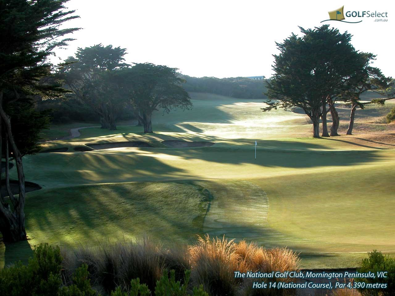 The National Golf Club (Old Course) Hole 14 (Old)
