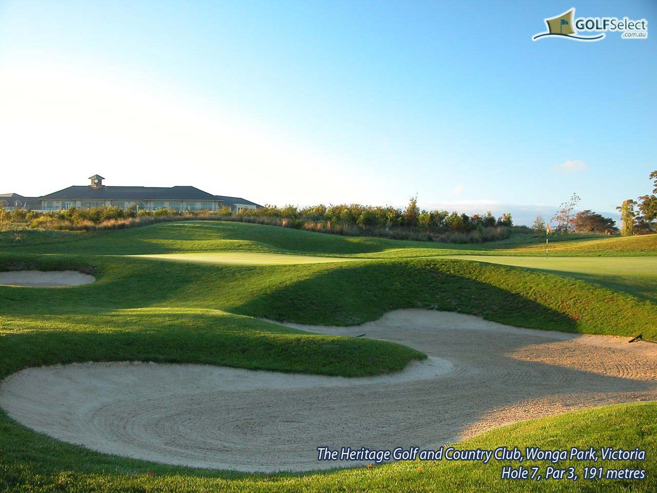 The Heritage Golf and Country Club (St.John Course) Hole 7, Par 3, 191 metres
