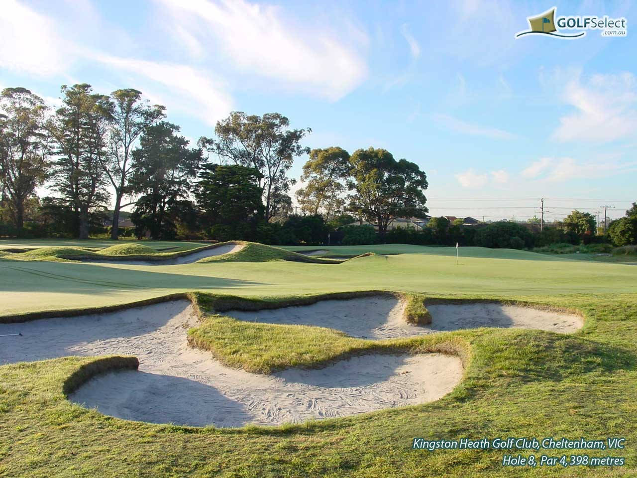 Kingston Heath Golf Club Hole 8
