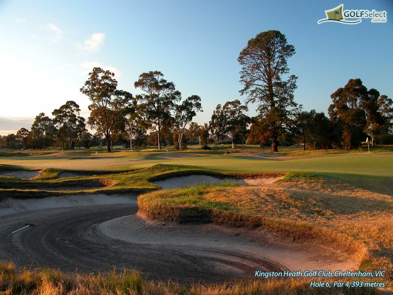 Kingston Heath Golf Club Hole 6