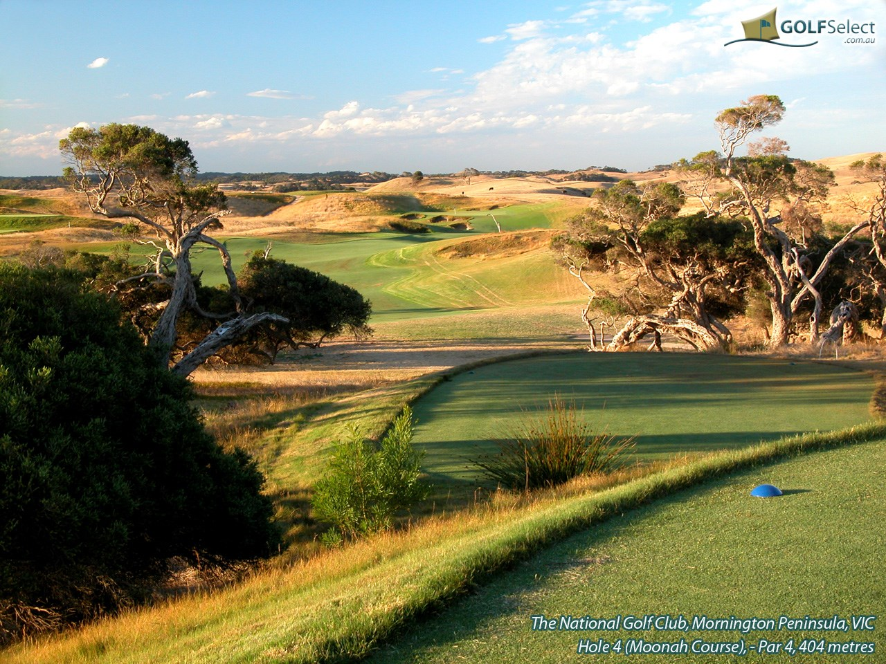 The National Golf Club (Moonah Course) Hole 4 (Moonah)