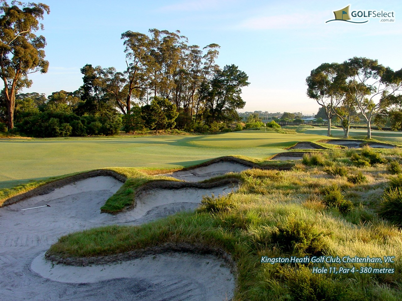 Kingston Heath Golf Club Hole 11
