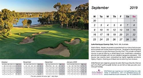 Lake Karrinyup Country Club (Western Australia) by Gary Lisbon