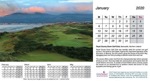 Royal County Down Golf Club (Northern Ireland) by Gary Lisbon