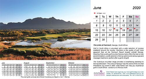 The Links at Fancourt (South Africa) by Gary Lisbon