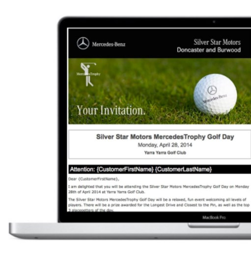 GolfDayPro Client Contact Sample