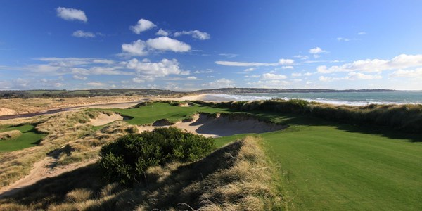 Barnbougle Dunes - fly direct to the course!