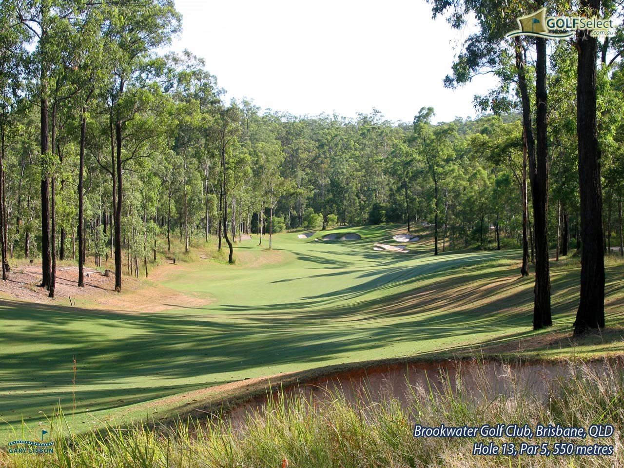 Brookwater Golf & Country Club Hole 13, Par 5, 550 metres