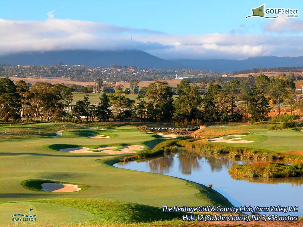 The Heritage Golf and Country Club (St.John Course) Hole 12 (St.John Course), Par 5, 458 metres