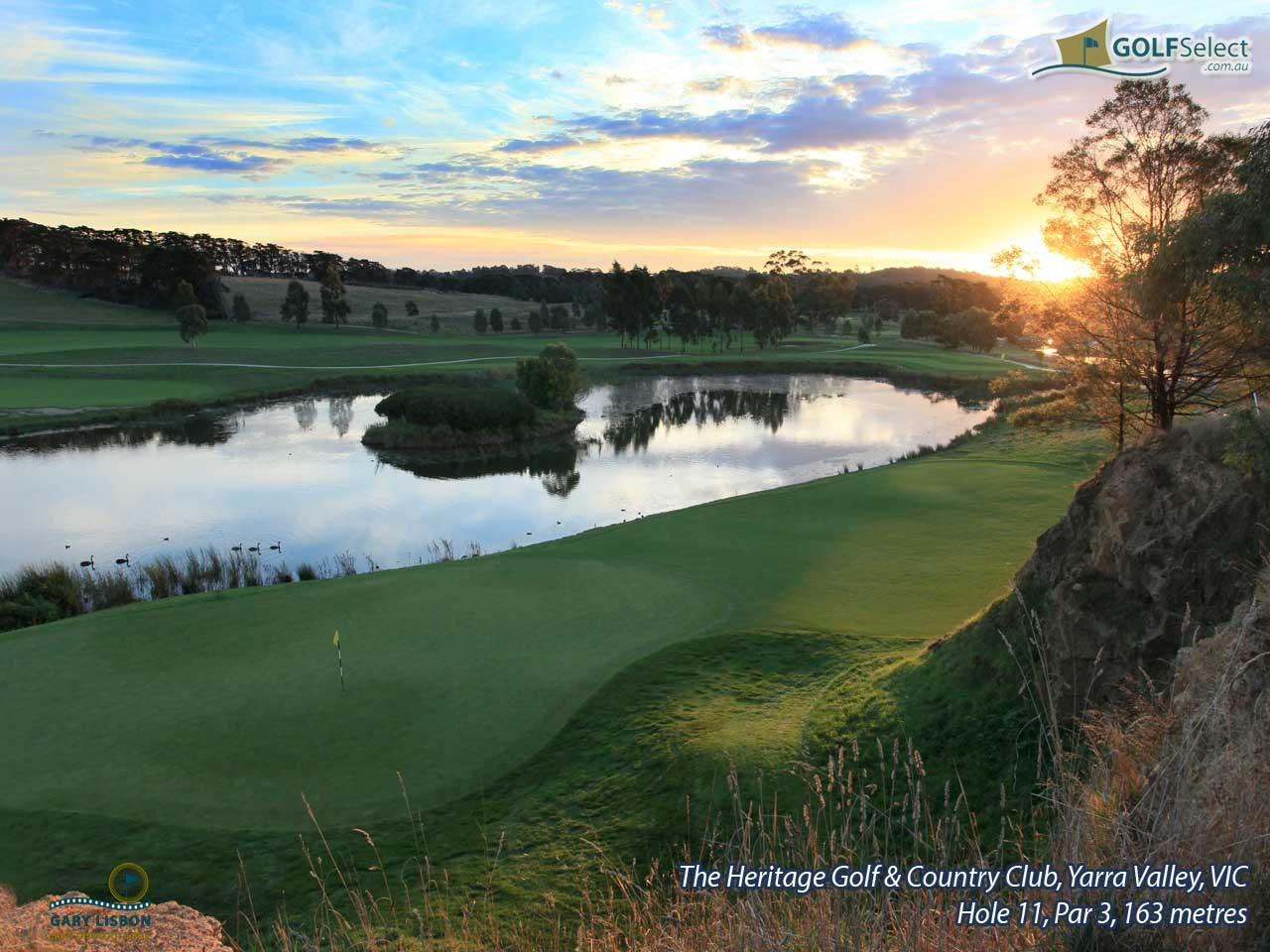 The Heritage Golf and Country Club (St.John Course) Hole 11, Par 3, 163 metres