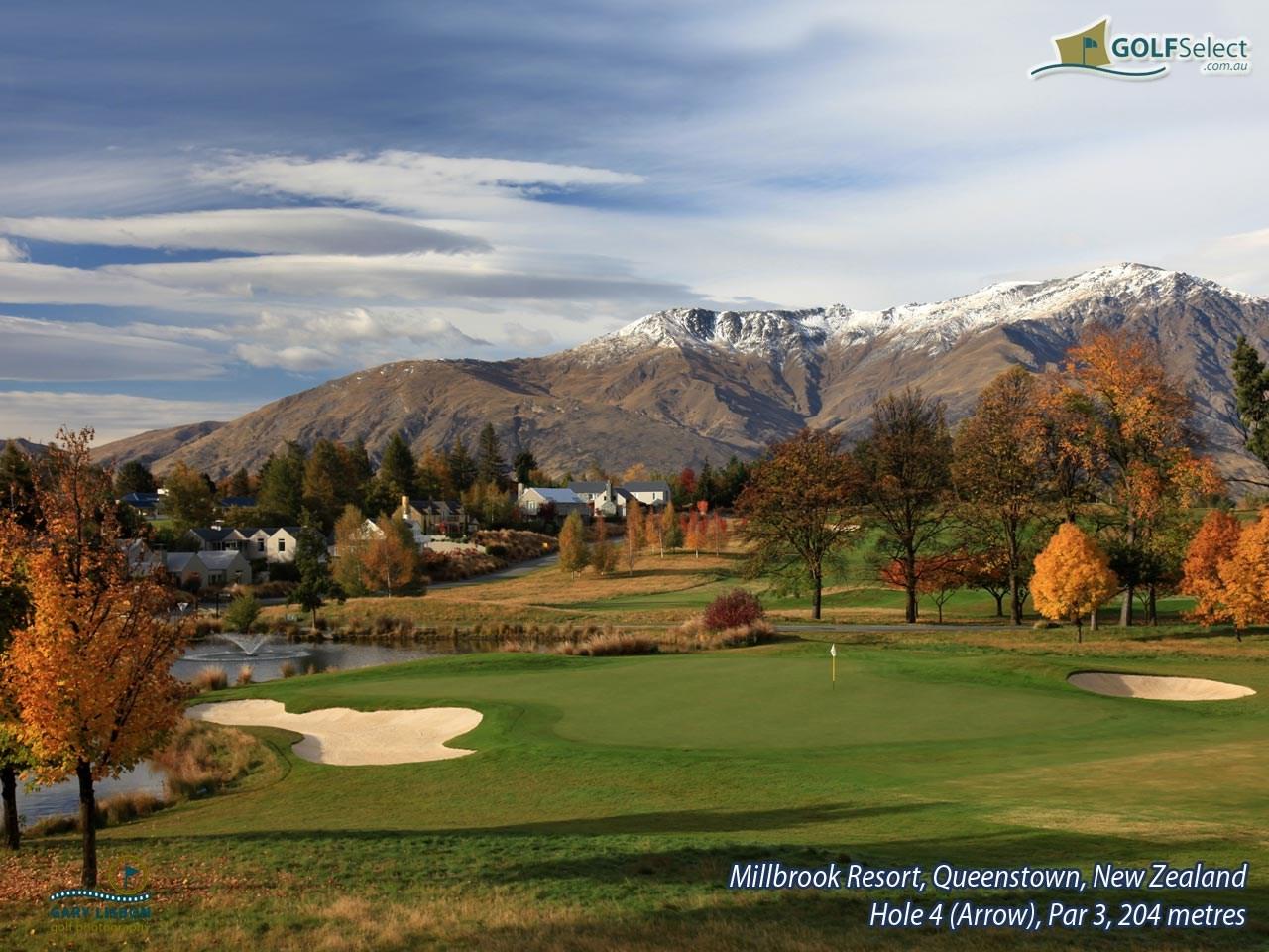 Golfselect Golf Wallpaper Millbrook Resort Hole 4