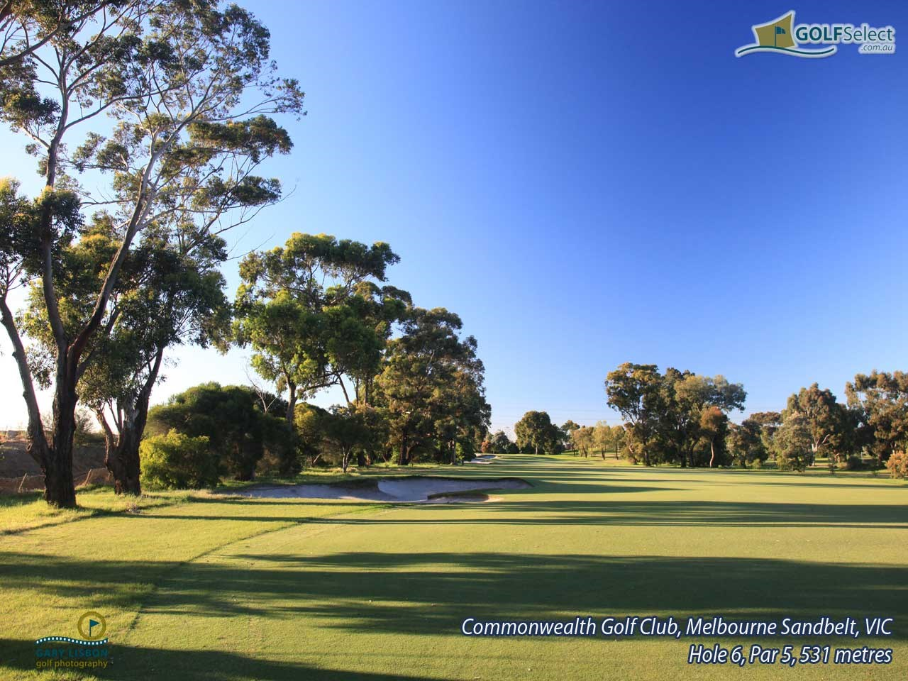 Commonwealth Golf Club Hole 6, Par 5, 531 metres
