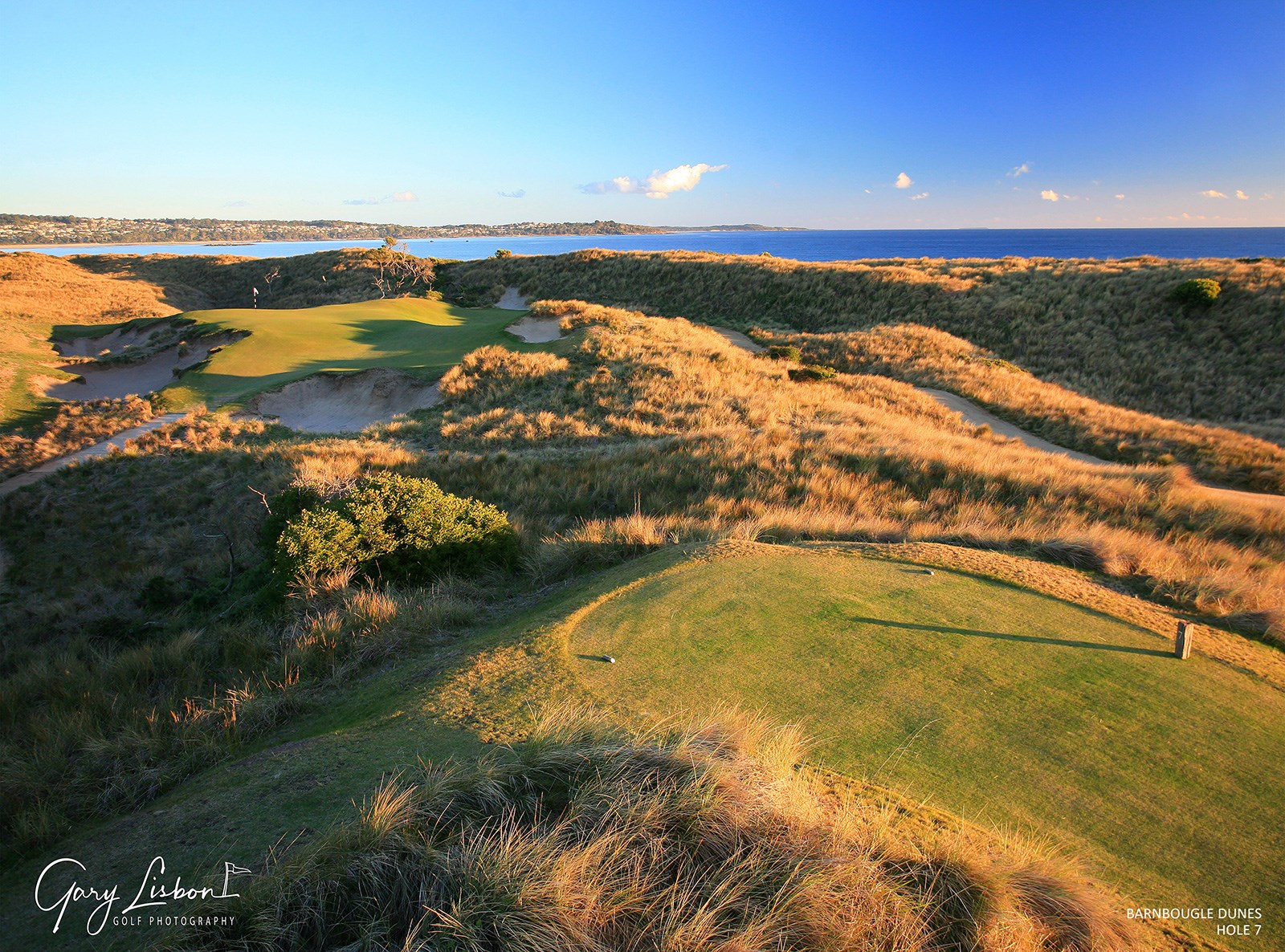 Barnbougle Dunes Golf Links Hole 7