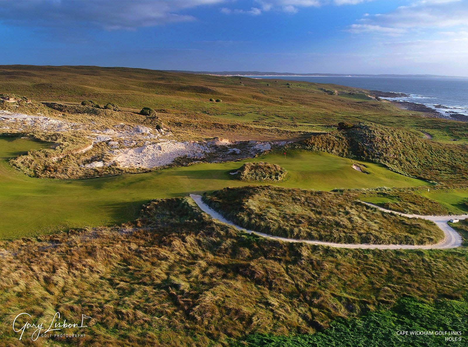 Cape Wickham Golf Course - King Island Hole 9