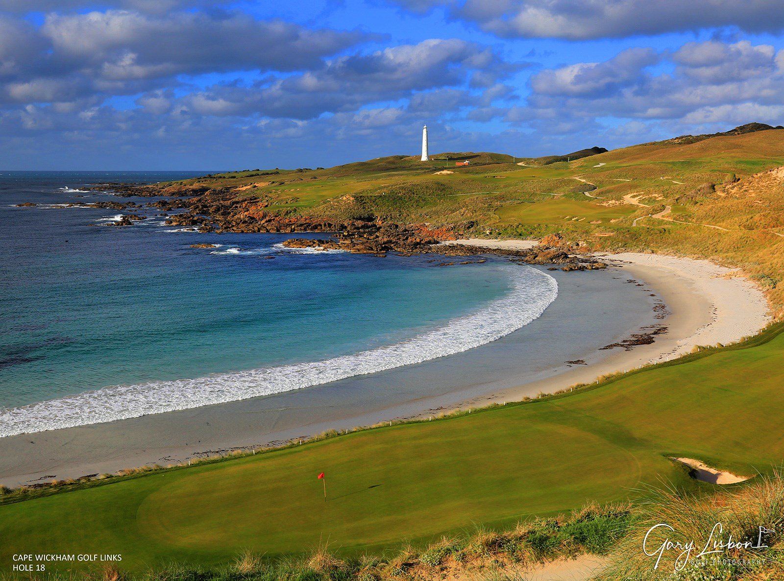 Cape Wickham Golf Course - King Island Hole 18