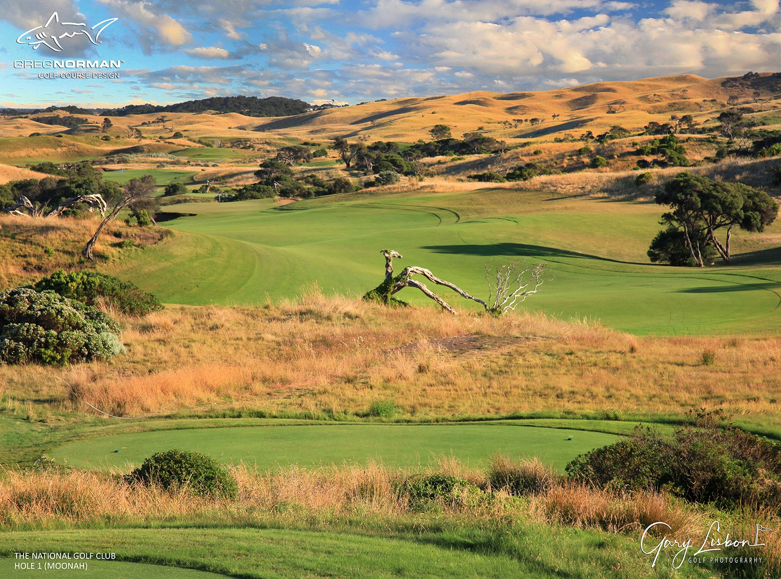 The National Golf Club (Moonah Course) Hole 1