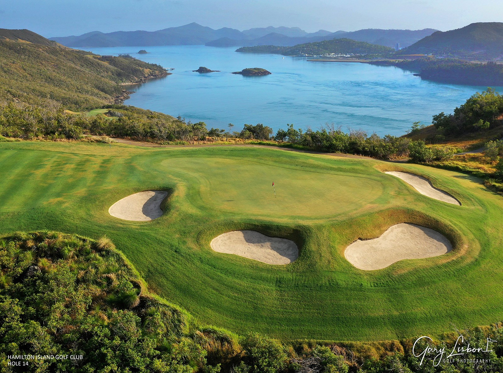 Hamilton Island Golf Club Hole 14