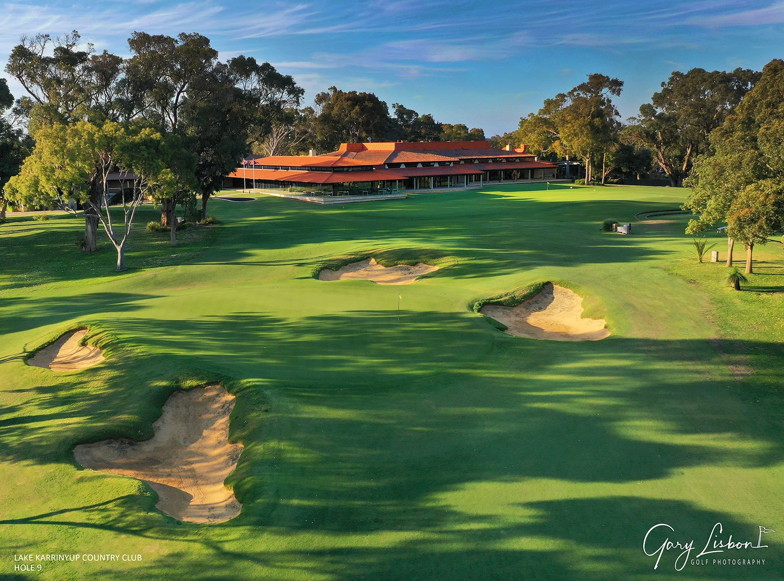 Lake Karrinyup Country Club Hole 9