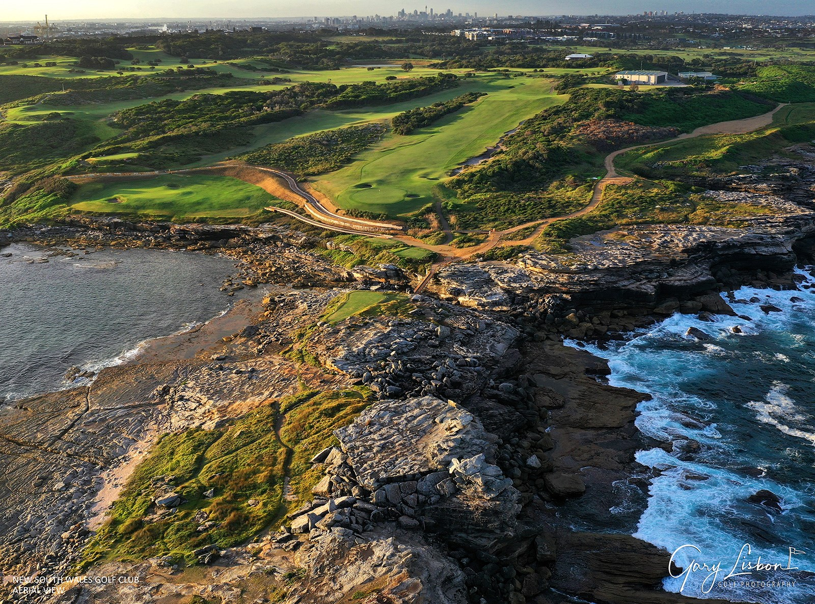 The New South Wales Golf Club Course Aerial
