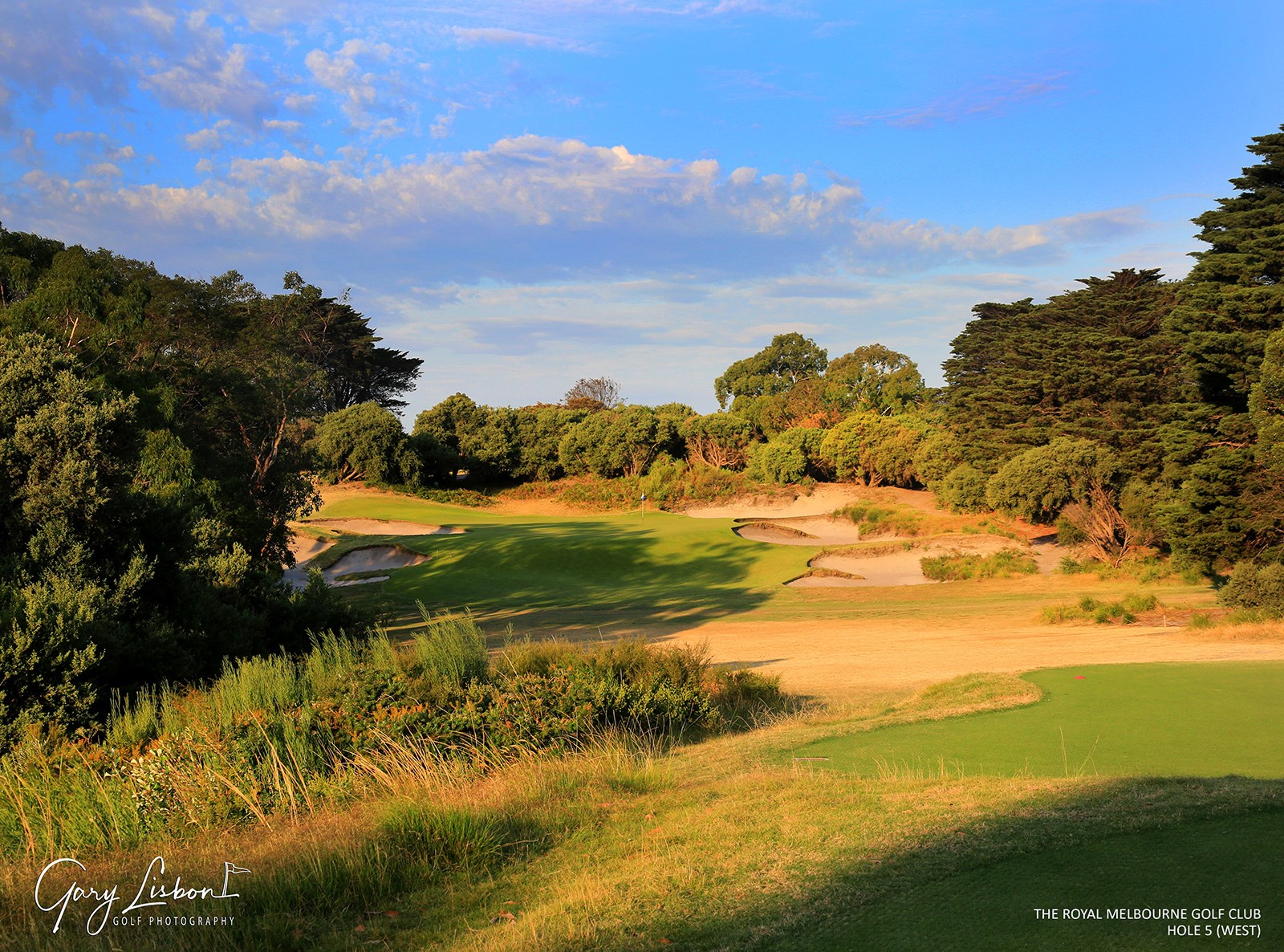 The Royal Melbourne GC (West Course) Hole 5