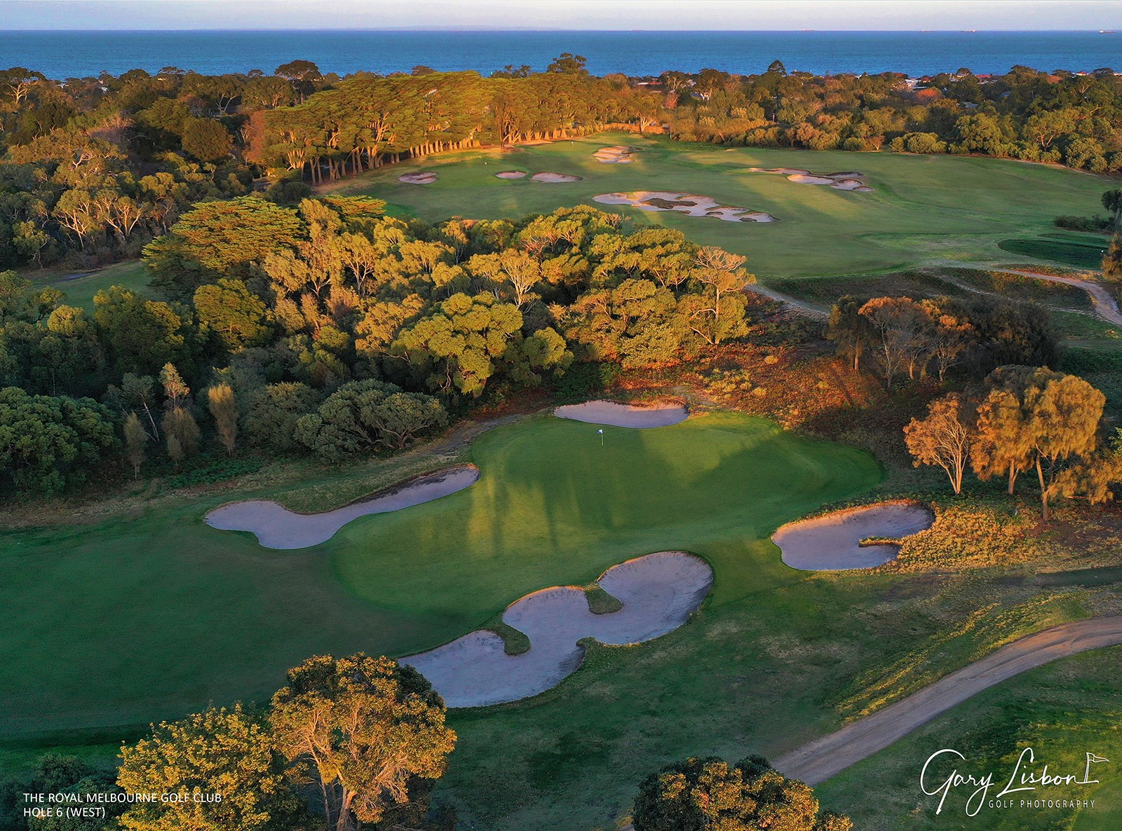 The Royal Melbourne GC (West Course) Hole 6