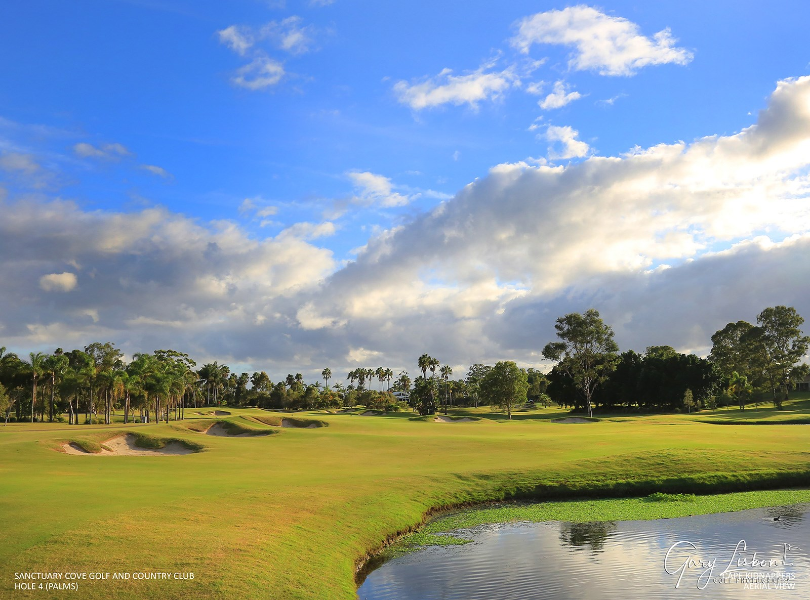 Sanctuary Cove - The Palms Hole 4
