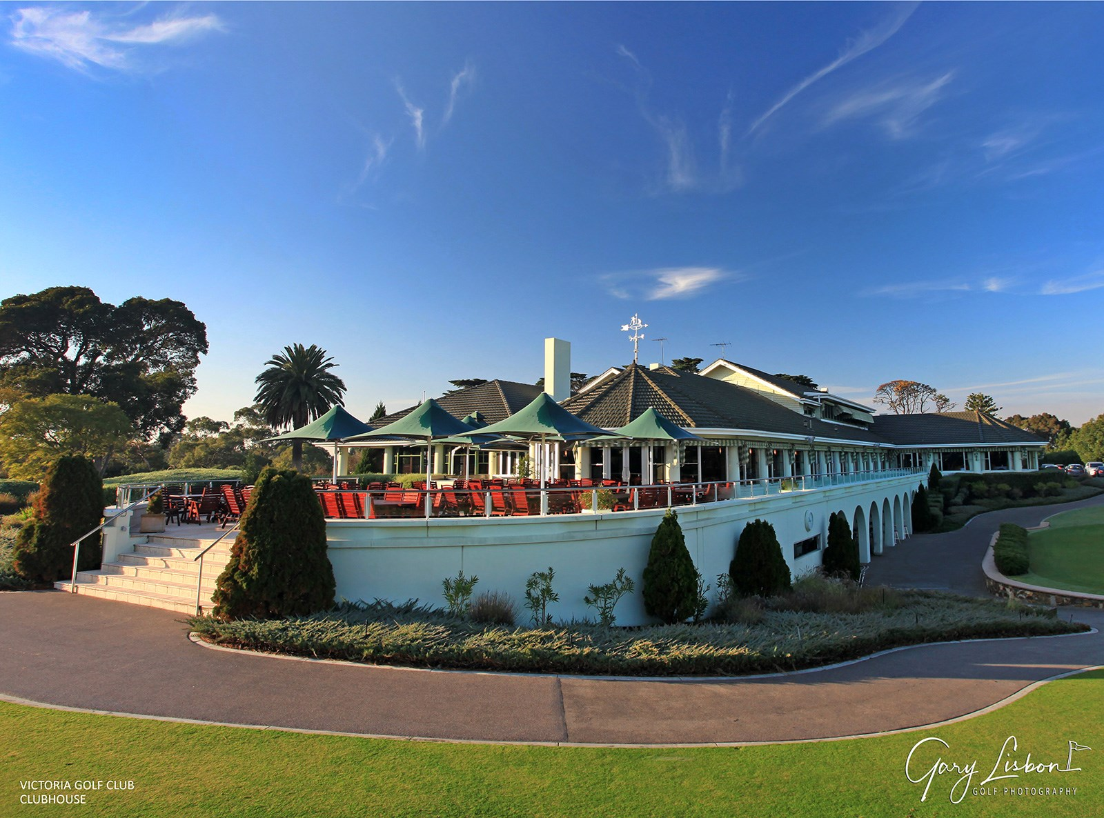 Victoria Golf Club Clubhouse